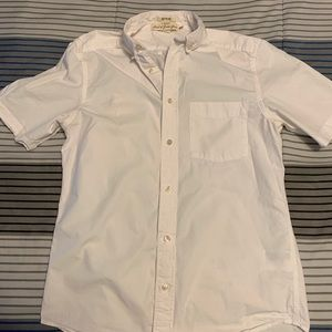 Short sleeved HM white button down.